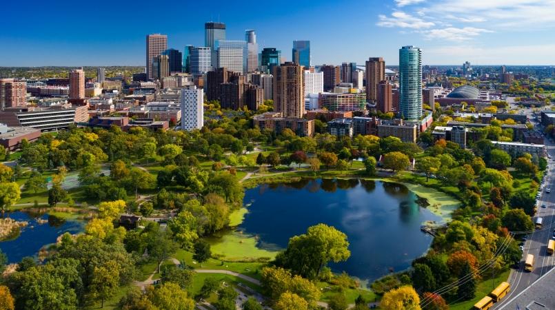Loring Park is one of many Minneapolis neighborhoods.