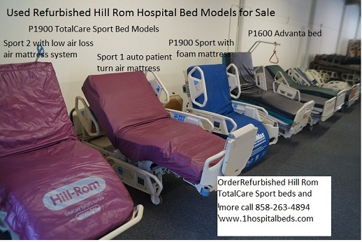 Used Refurbished Hill Rom TotalCare Sport Advanta and Advance beds medium.jpg
