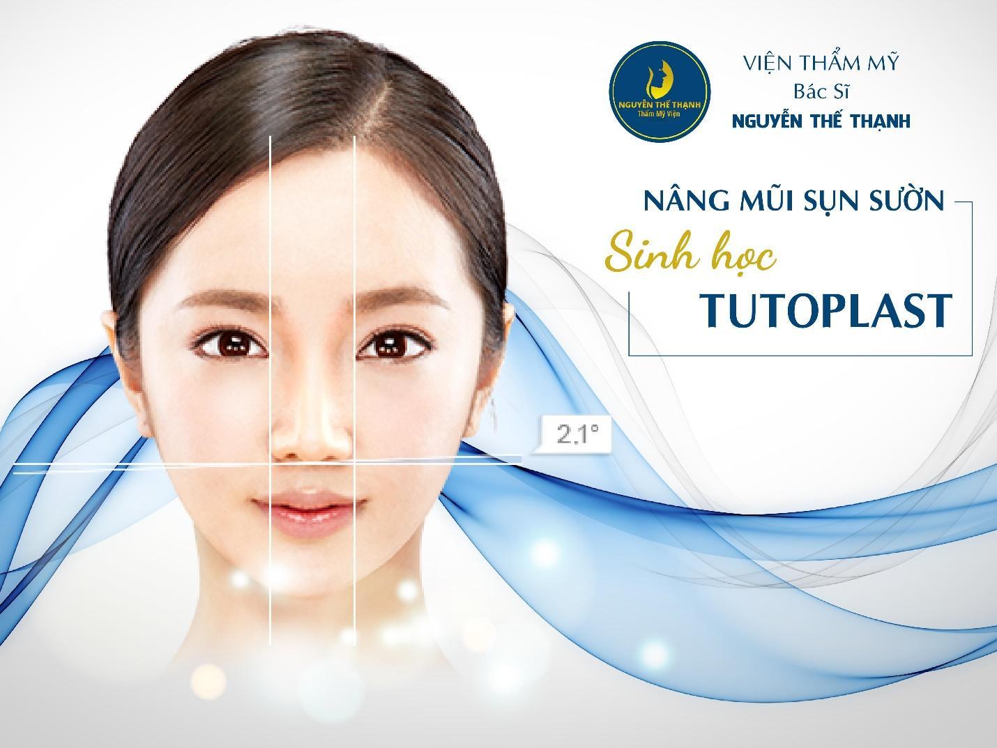 Nâng mũi sụn sườn sinh học Tutoplast - Bước đột phá trong công nghệ nâng mũi - Ảnh 1
