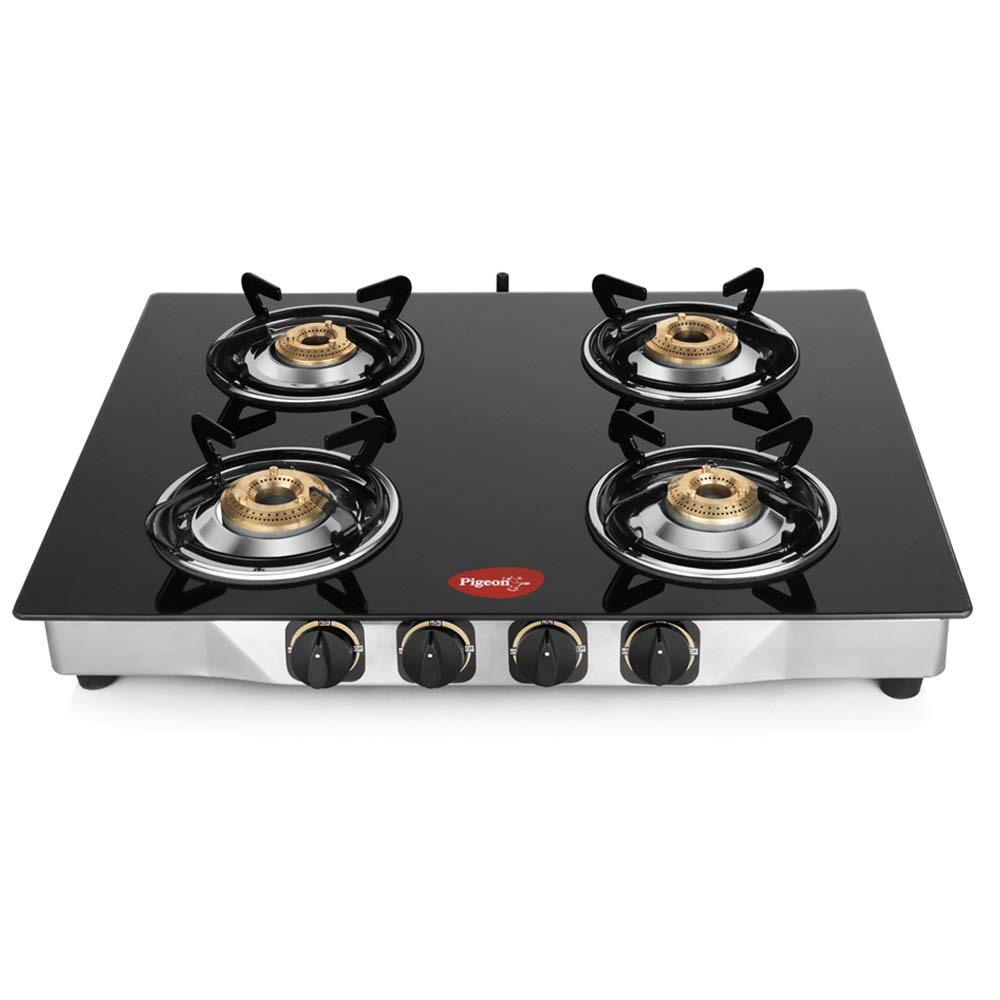 Pigeon by Stovekraft 4 Burner Gas Stove