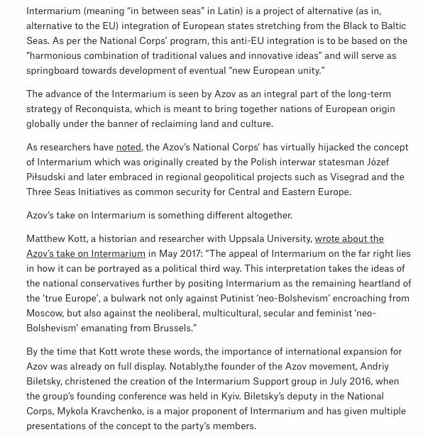 O conceito de Intermarium: uma integração nacionalista europeia entre países que iriam do Mar Negro ao Mar Báltico