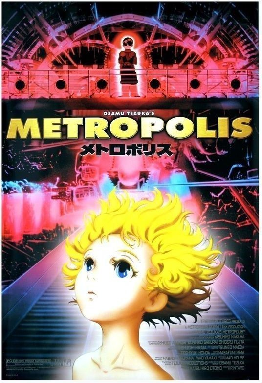 Top 10 Cyberpunk Anime Masterpieces That you Need to Watch - Metroplois