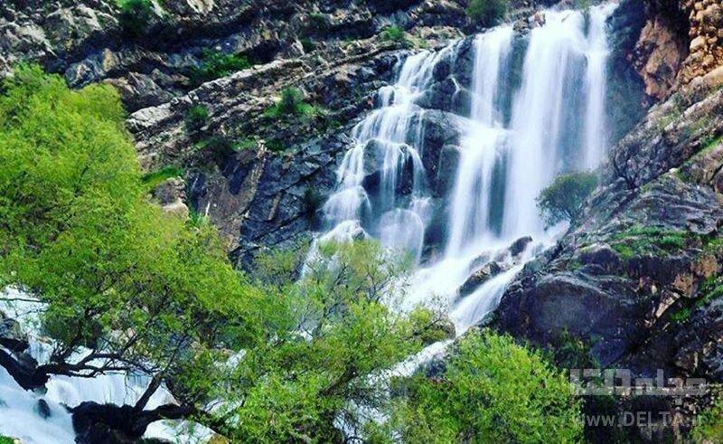 آبشارهای معروف لرستان