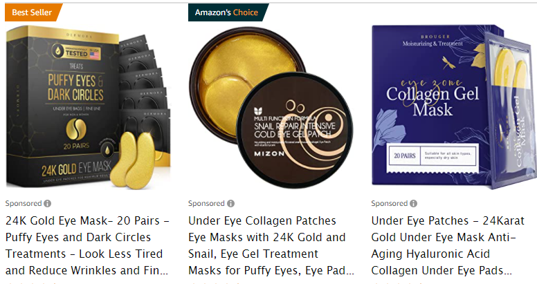 health care product examples from Amazon bestsellers