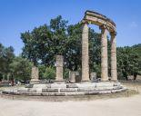 Ancient monument in Ancient Olympia