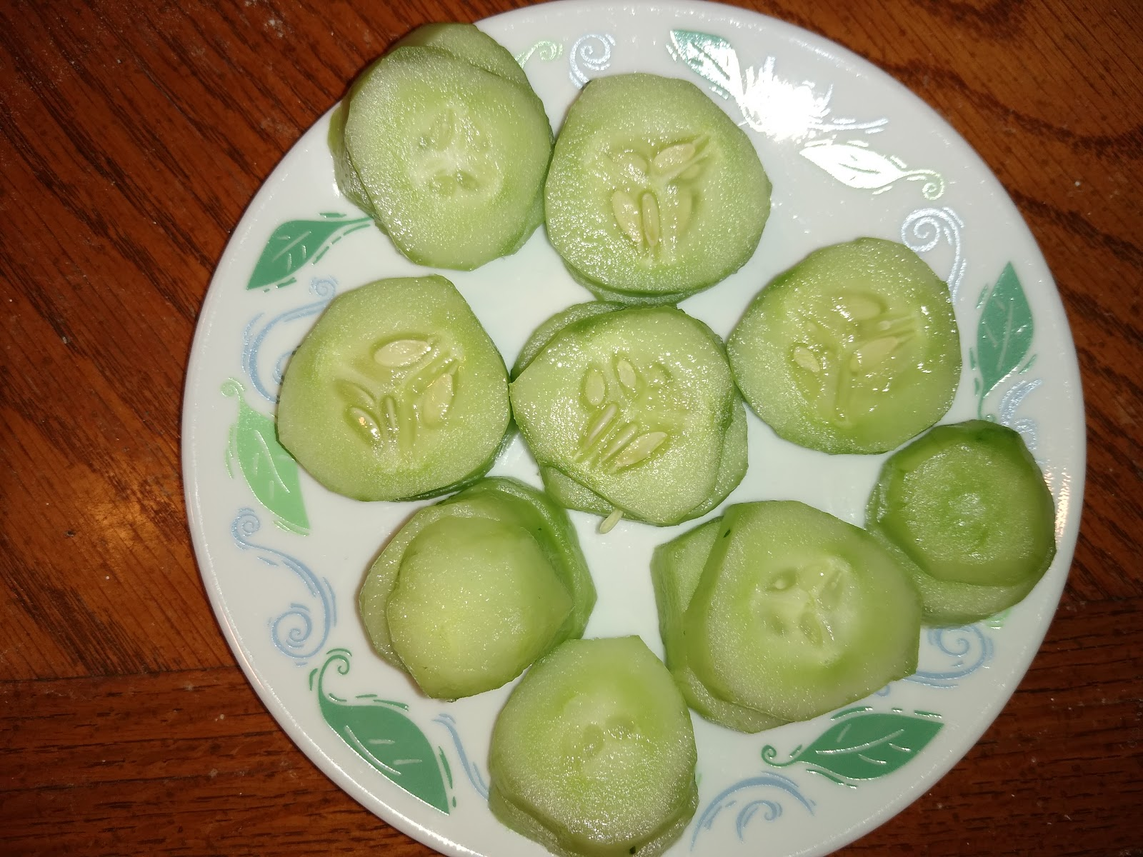 chopped cucumbers picture