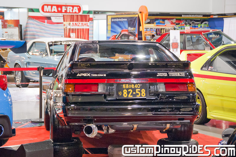RR Dagon's AE86 Black Limited and Coy Enriquez' Rocket Bunny 86 Trans Sport Show Custom Pinoy Rides pic5