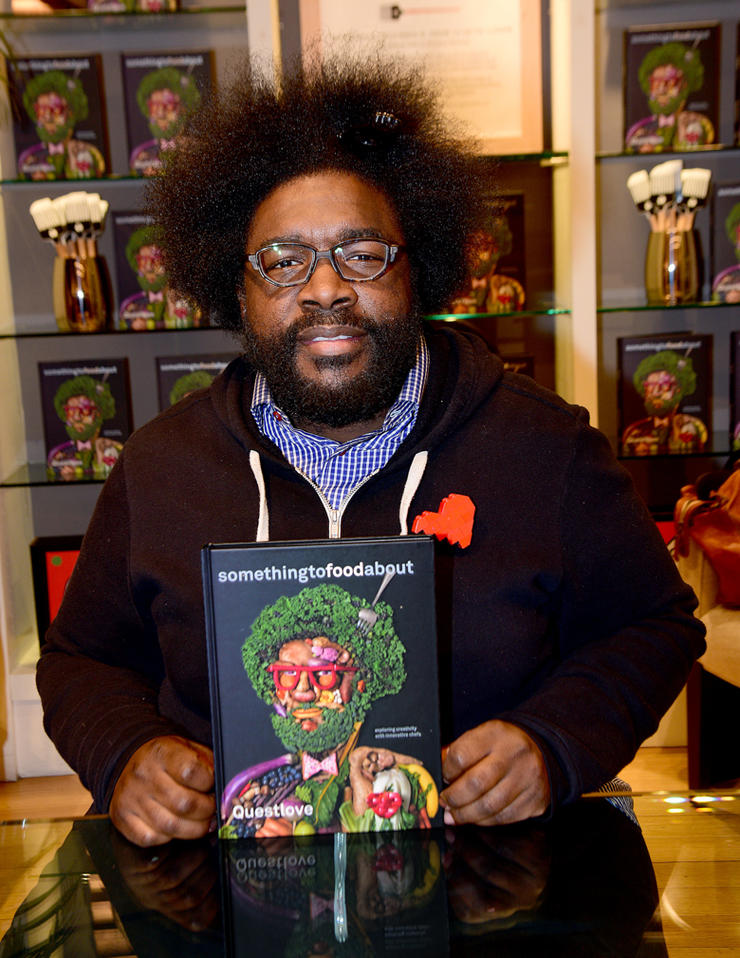 Williams Sonoma Columbus Circle welcomes Questlove for a special