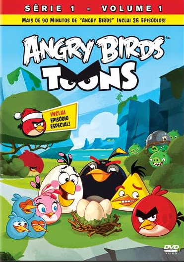 Baixar Torrent Angry Birds Toons VOLUME 1 DVDRip Dublado Download Grátis