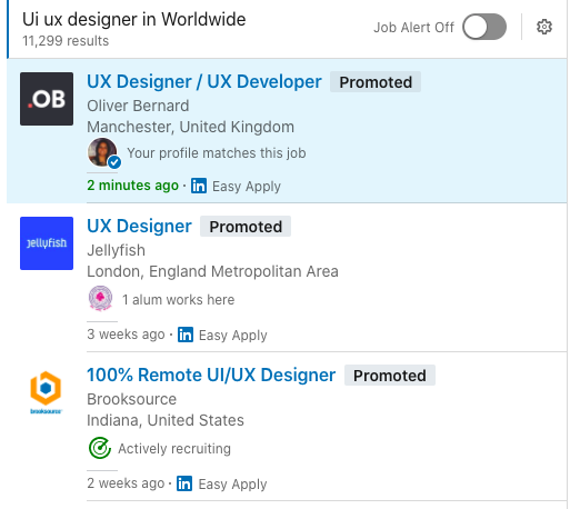 Designer Jobs Worldwide