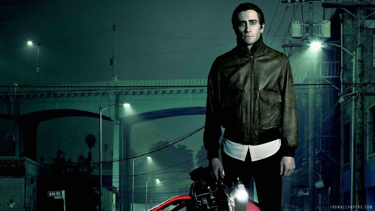 Jake Gyllenhaal as a nightcrawler