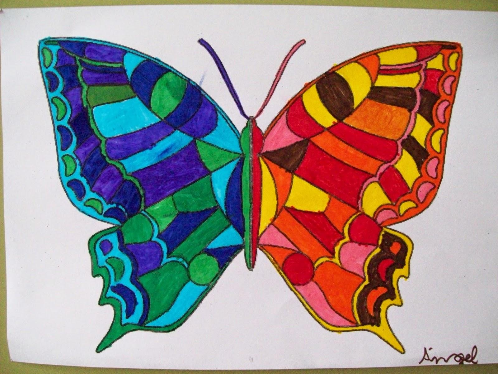 Dibujos Bonitos De Colores: Estrellas Del Arte.: SESIÓN 1: COLORES FRÍOS Y CÁLIDOS