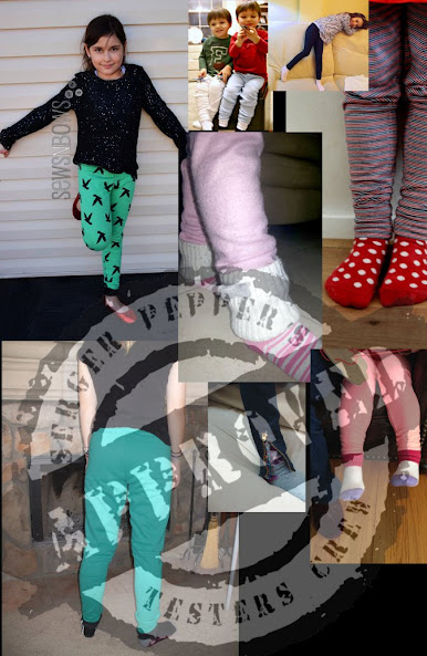 Serger Pepper - Basic Leggings PDF NEW Pattern - only $ 5.90 on Craftsy.com