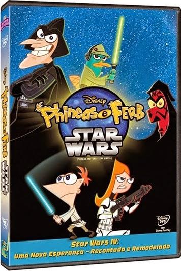 Filme Poster Phineas e Ferb: Star Wars DVDRip XviD & RMVB Dublado