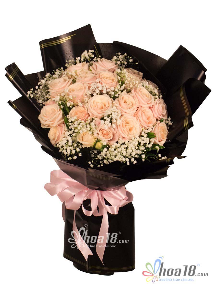 bó hoa tặng vợ