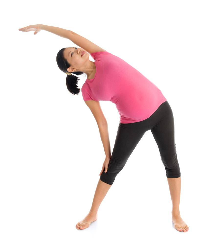 Standing Side Stretch exercise