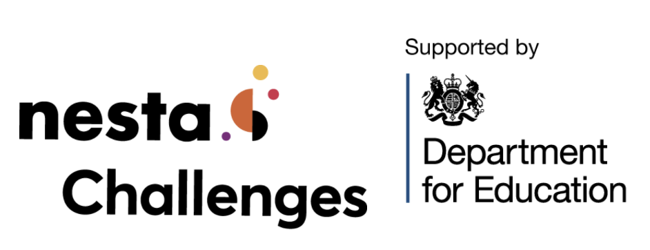 Nesta Challenges and Department for Education logos