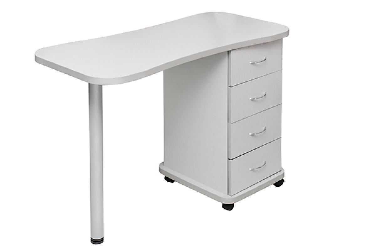 Маникюрный столик на колесиках