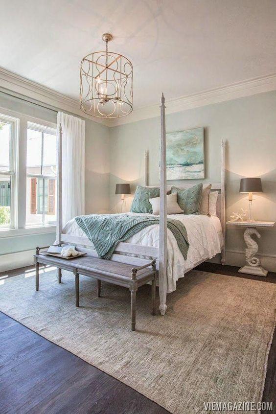 Aesthetic Coastal Inspired Bedroom