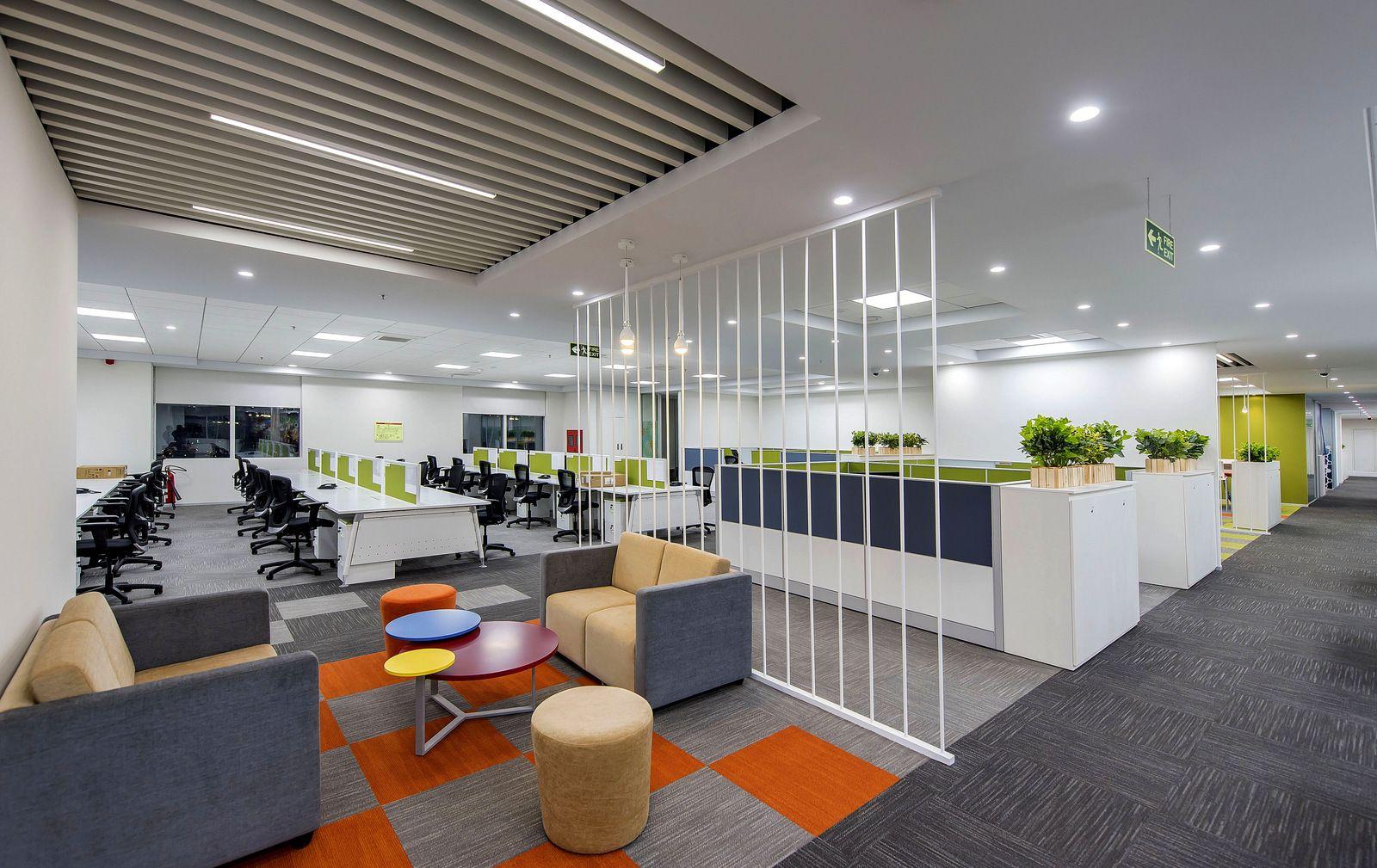 Sơn hiệu ứng Waldo-Văn phòng thiết kế phong cách thoải mái