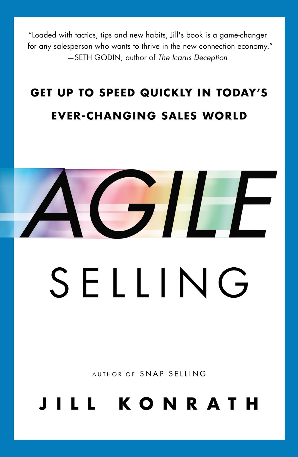 Agile Selling sales book.