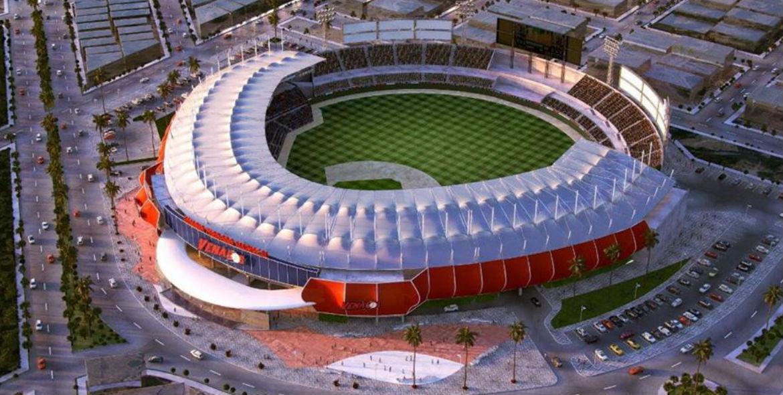 Imagen que contiene estadio, edificio, mesa, tren  Descripción generada automáticamente