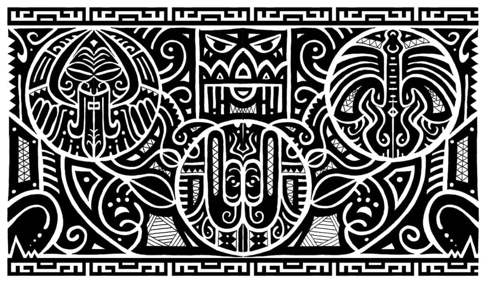 Ý Nghĩa Hình Xăm Maori |  Xăm Hình Maori | Hình Xăm Maori Đẹp 2021