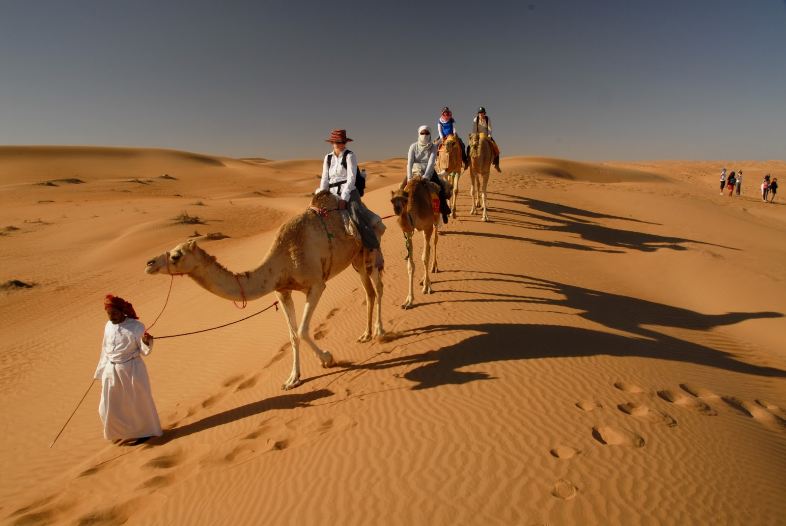 Camel riding at Wahiba Sands.JPG
