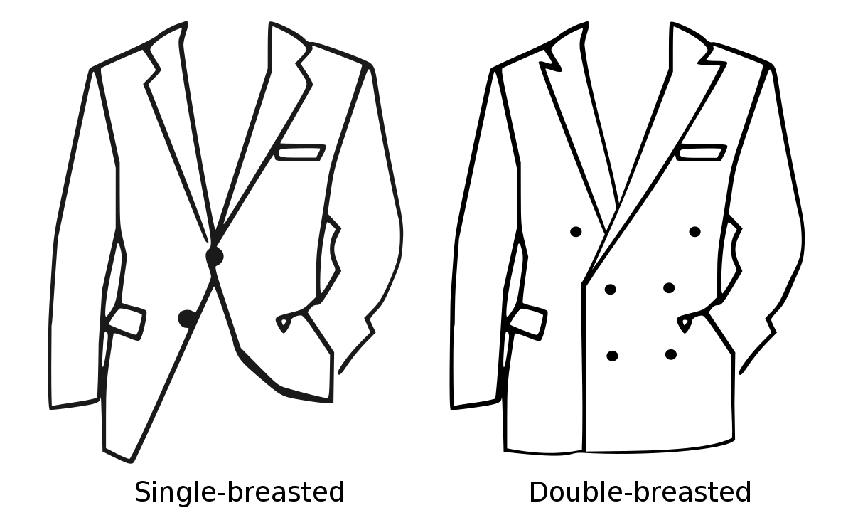 styles of blazers and suit jackets