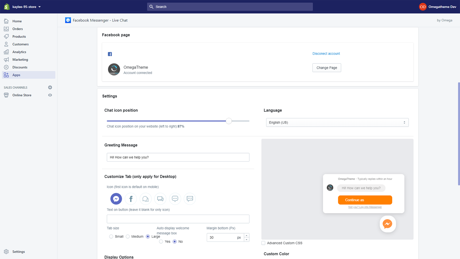Facebook chat desktop chatting