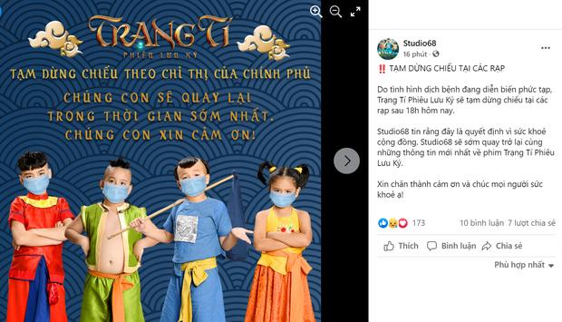 Các đoàn phim lên tiếng khi rạp ở Sài Gòn đóng cửa vì Covid-19: Rất buồn nhưng tất cả vì sức khỏe cộng đồng - Ảnh 5.