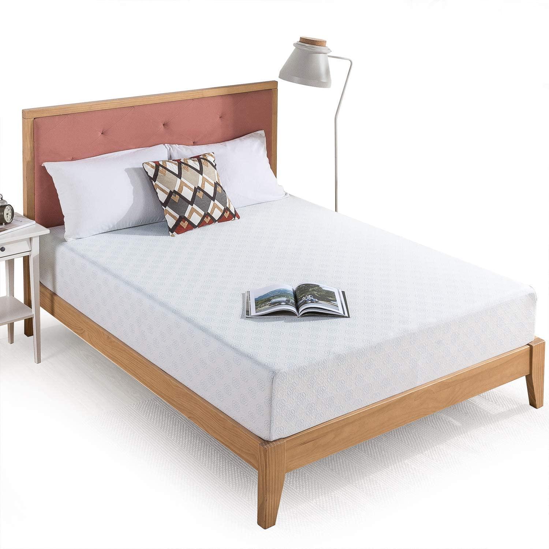 Zinus 10 Inch Gel-Infused Green Tea Memory Foam Bed-in-a-Box Mattress