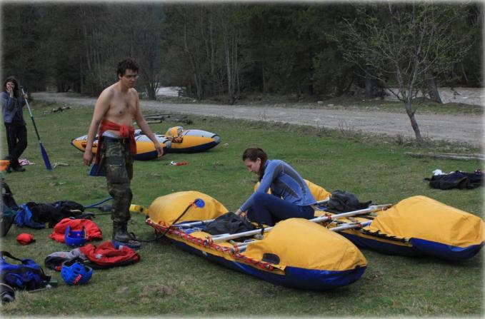 Отчет О водном туристском спортивном походе 3 к.с. в районе Карпат