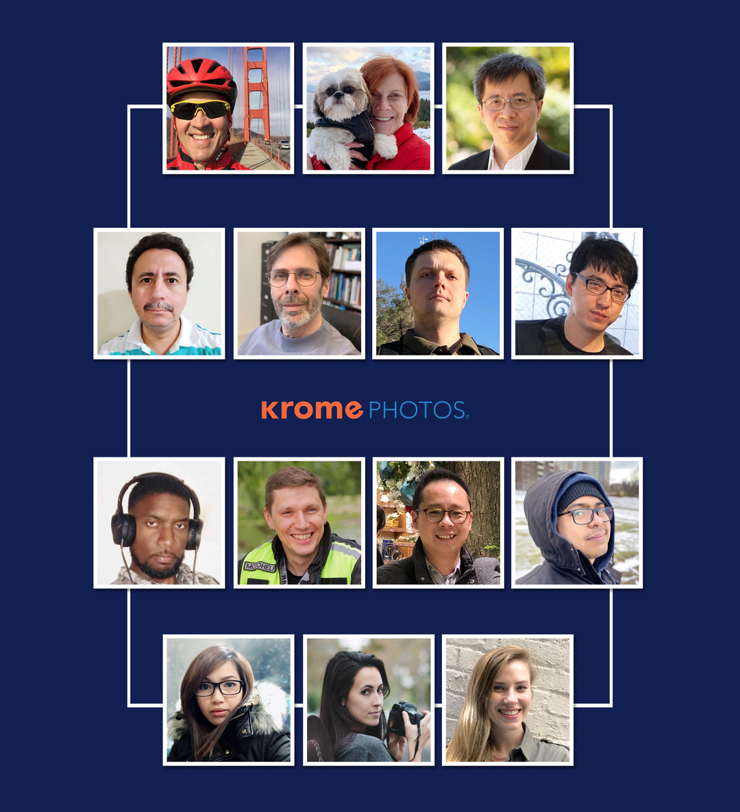Krome employees in a group photo
