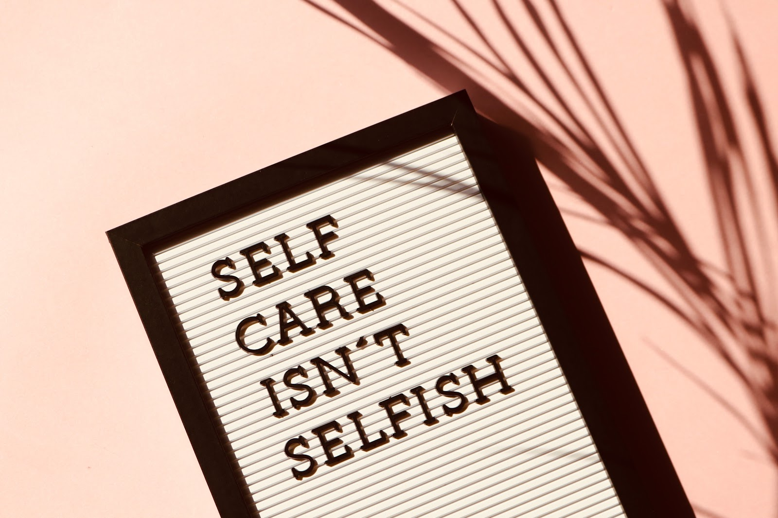 There's a lot of misconceptions when it comes to self-care, one of which being that it's selfish.