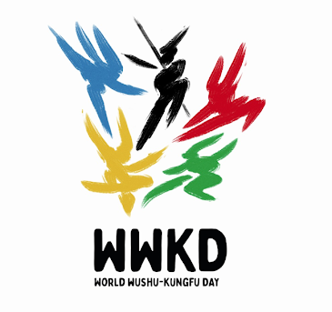 This logo is based on wushu's long history, from its origins as defense to contemporary wushu focused on competition and health benefits. Wushu has spread throughout the world, and more and more people everywhere are understanding that life must maintain a balance between mind, body and spirit. The purpose of this logo is to find a solid, friendly and universal identity, a reflection of a vision without borders that aspires to be recognized as an Olympic sport, while maintaining a sober line and visual balance in its allusion to Chinese calligraphy.