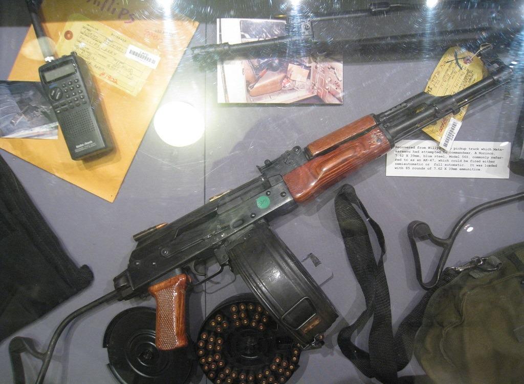 оружие преступников в северном голливуде