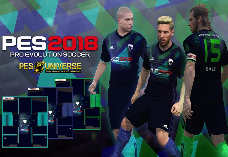 PES 2018: How to import kits, crests, and teams with an option file