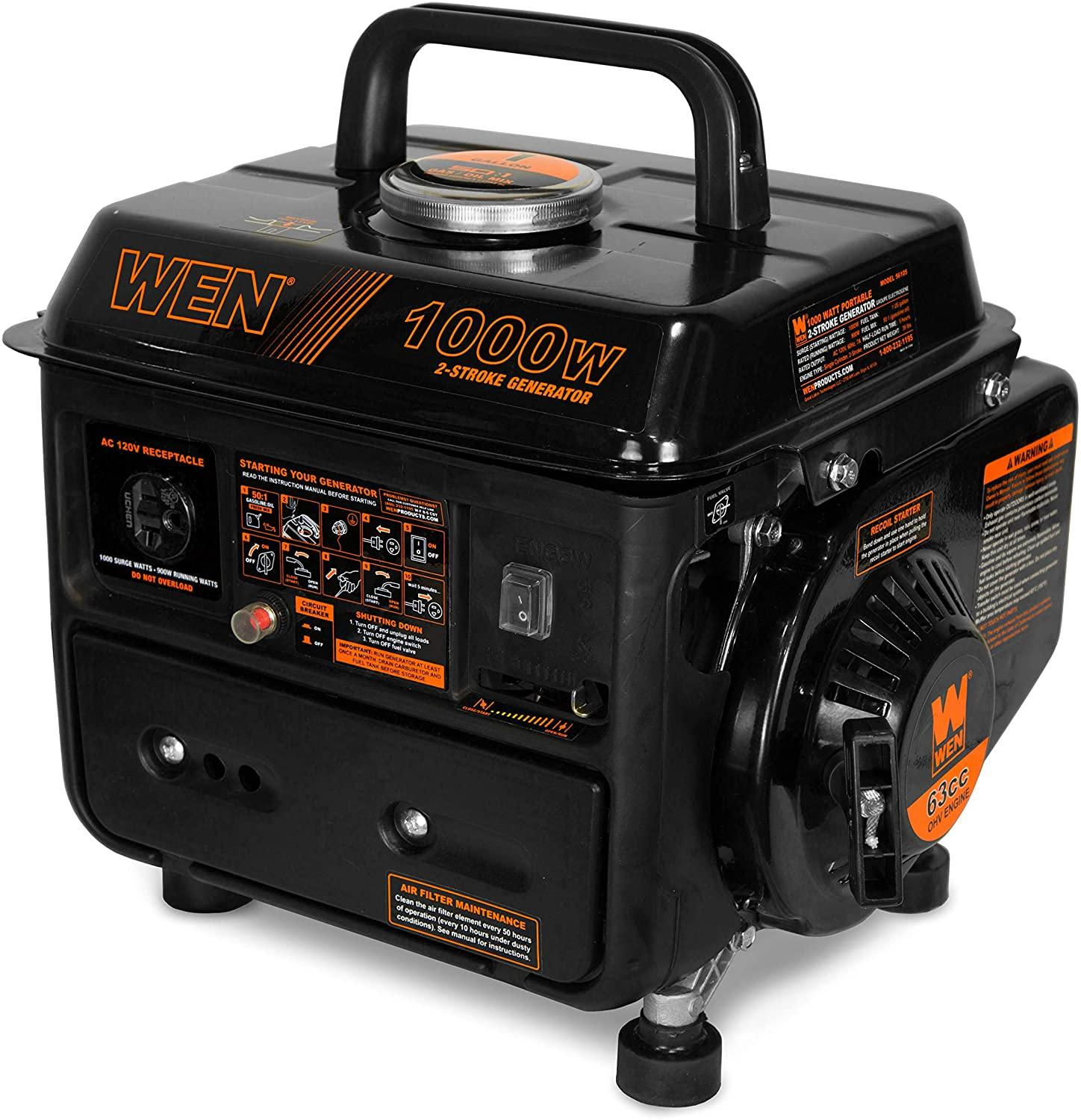 WEN 56105 GAS POWERED GENERATOR