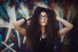 styling your curly hair