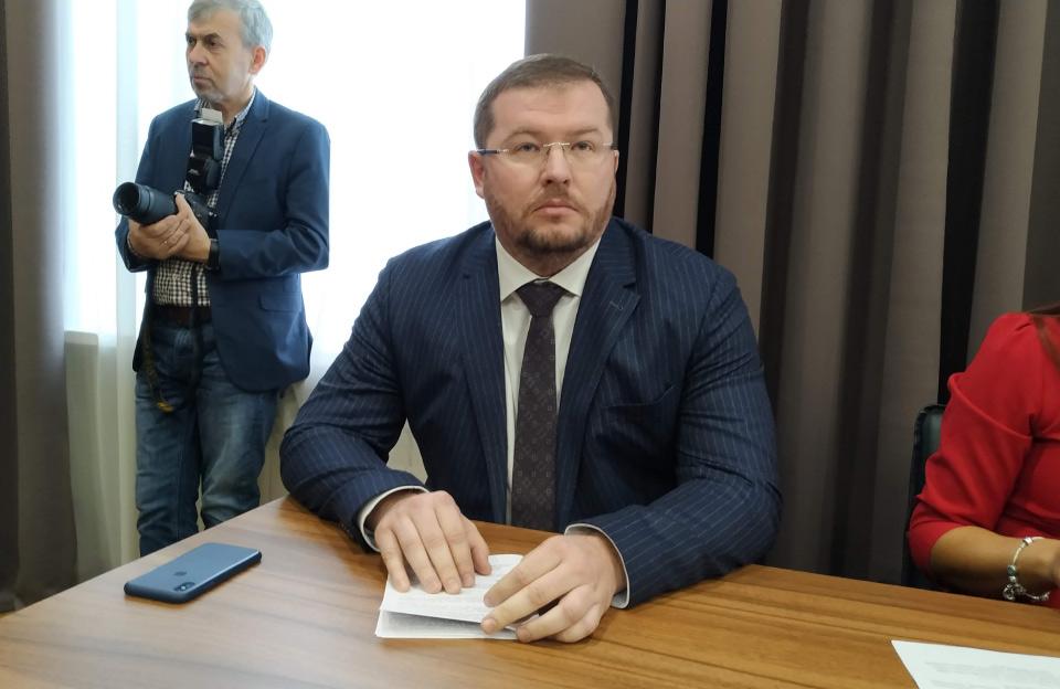 Дмитрий Лунин, первый замглавы Полтавской областной государственной администрации