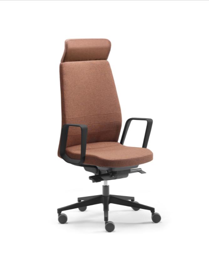 fauteuil de direction de style déco industriel