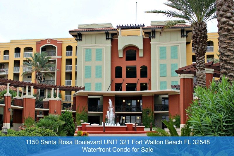 Fort Walton Beach FL Waterfront Condos for Sale