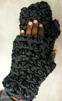 12 days of DIY crochet gifts to make: Day 9- super chunky gloves