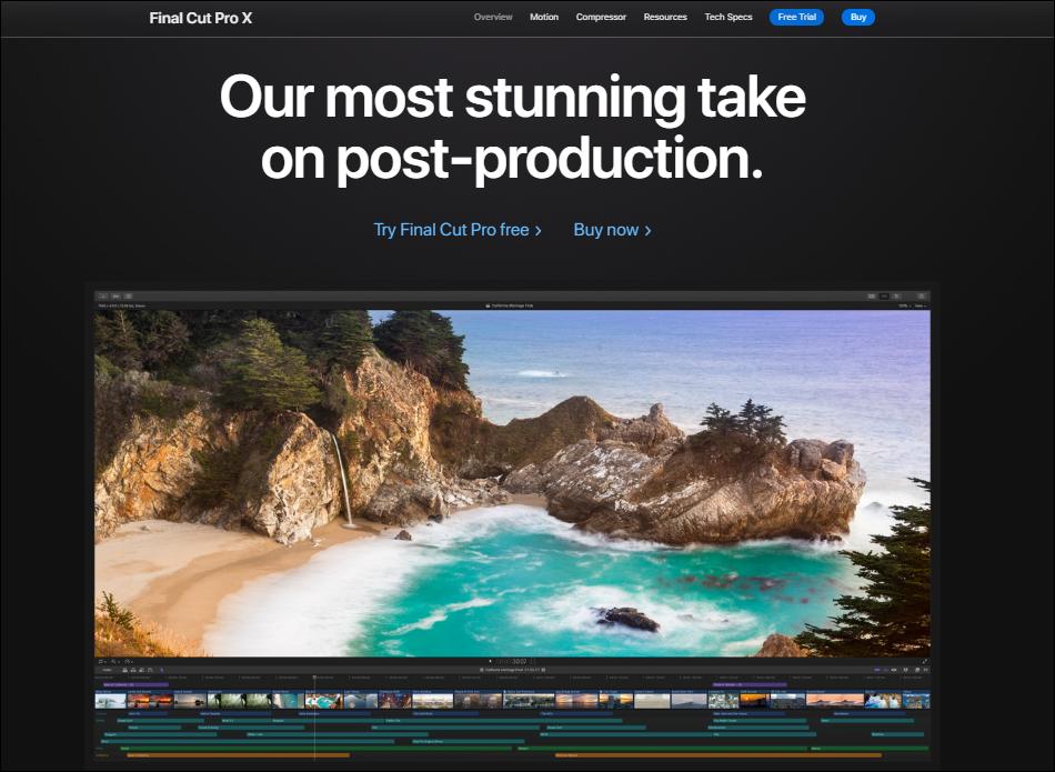 Final Cut Pro X Video Editor