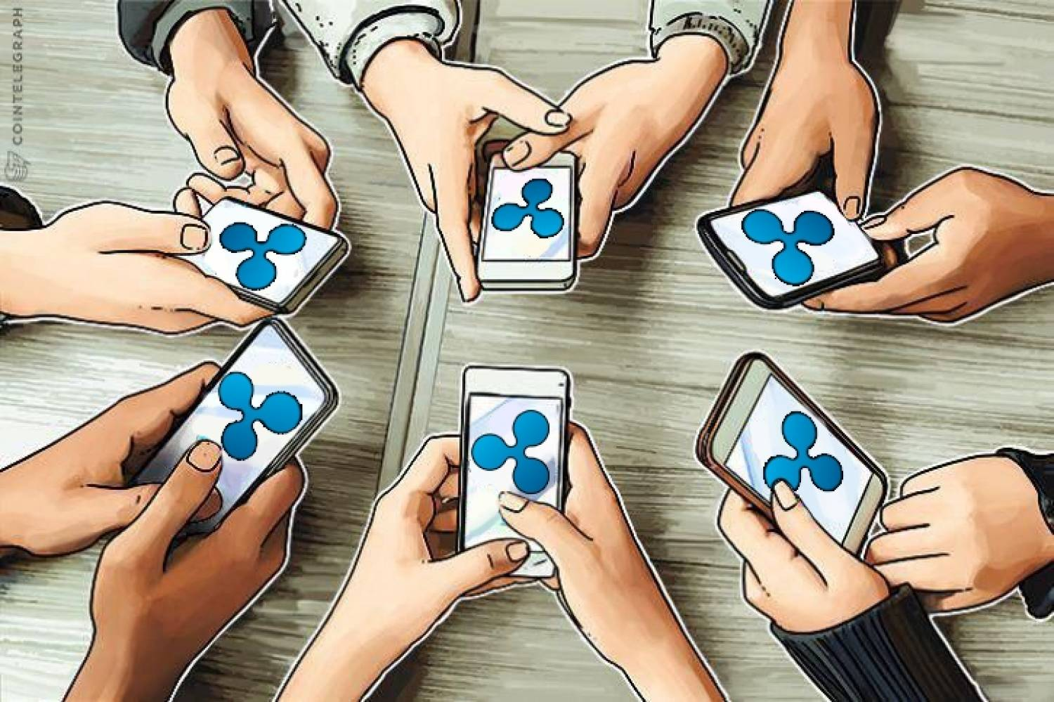People with Ripple wallets