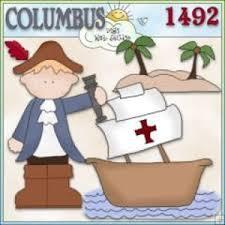 Image result for christopher columbus clipart