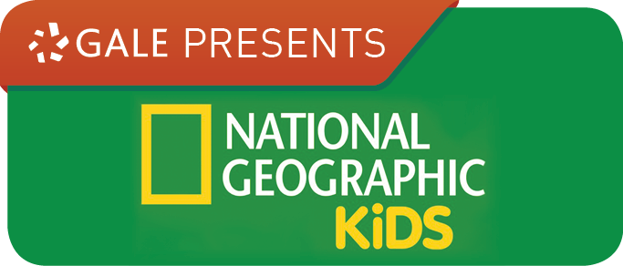 Gale Presents National Geographic Kids Logo