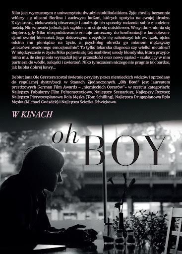 Tył ulotki filmu 'Oh Boy'