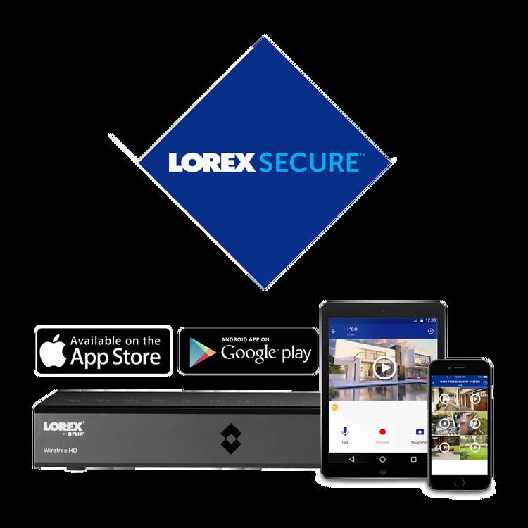 Lorex Secure app